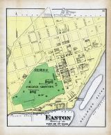 Easton - Part of Ward 3, Northampton County 1874
